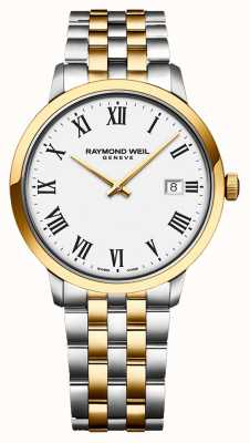 Raymond Weil | Men's Toccata | Two-Tone Stainless Steel | Silver Dial | 5485-STP-65001