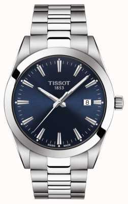 Tissot | Gentleman | Stainless Steel Bracelet | Blue Dial | T1274101104100