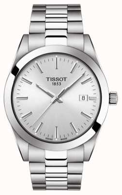 Tissot | Gentleman | Stainless Steel Bracelet | Silver Dial | T1274101103100
