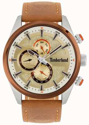 Timberland | Men's Ridgeview | Tan Leather Strap | Mineral Dial | 15953JSTBN/04