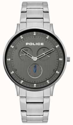 Police | Men's Berkeley | Stainless Steel Bracelet | Grey Dial | 15968JS/39M