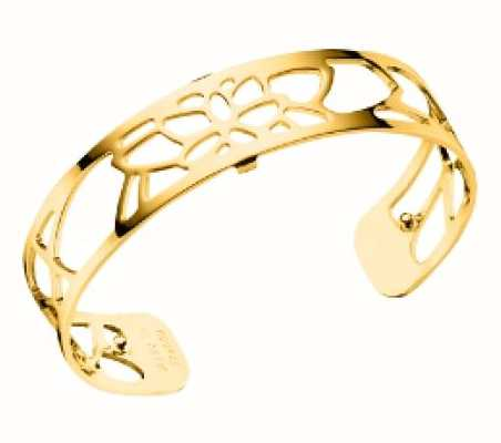 Les Georgettes 14mm Nenuphar Gold Plated Bangle 70295870100000