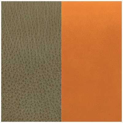 Les Georgettes 8mm Leather Insert   Khaki/Cognac 703215299CH000