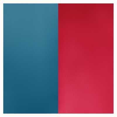 Les Georgettes 14mm Leather Insert | Petrol Blue/Raspberry 702145899M7000