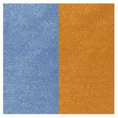 Les Georgettes 14mm Leather Insert | Denim Blue/Canyon 702145899M5000