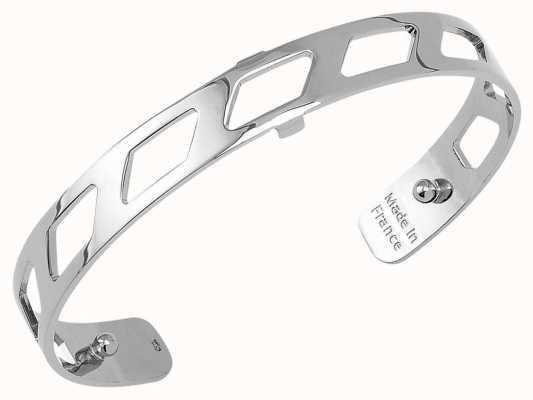 Les Georgettes 8mm Ruban Silver Finish Bangle 70316881600000