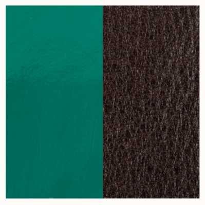 Les Georgettes 25mm Leather Insert | Patent Pine Green / Brown 702755199DF000