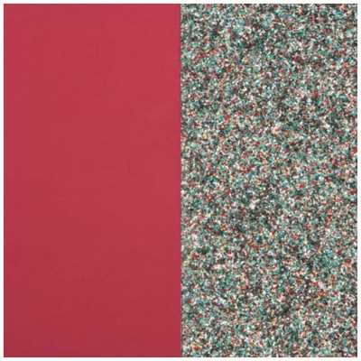 Les Georgettes 25mm Leather Insert   Soft Raspberry/Multicoloured Glitter 702755199DH000