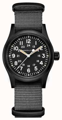 Hamilton | Mens | Khaki Field | Mechanical | Nato Strap | H69409930