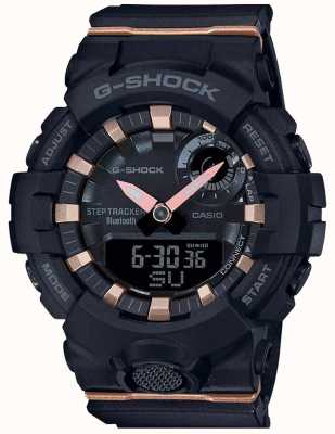 Casio | G-Shock G-Squad | Black Rubber Strap | Bluetooth Smart | GMA-B800-1AER