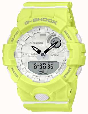 Casio G-Shock G-Squad | Yellow Rubber Strap | Bluetooth Smart | GMA-B800-9AER