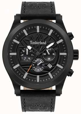 Timberland Street Savvy | Black Leather Strap | Black Dial | 15661JSB/02