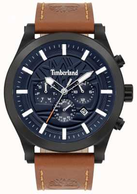 Timberland Street Savvy | Brown Leather Strap | Blue Dial | 15661JSB/03