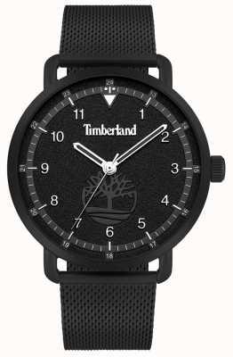 Timberland City Lifestyler | Black Steel Mesh Bracelet | Black Dial | 15939JSB/02MM