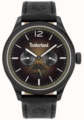 Timberland City Lifestyler | Black Leather Strap | Black Dial | 15940JSB/19