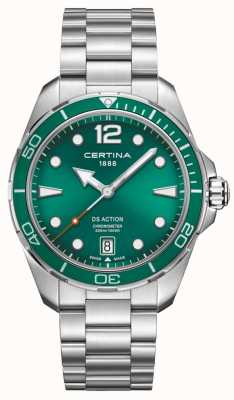 Certina DS Action Chronometer Green Dial C0324511109700