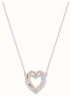 Swarovski | Infinity Heart Necklace | White | Mixed Metal Finish 5518868
