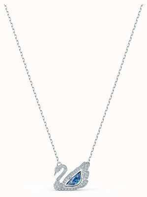 Swarovski | Dancing Swan | Blue Crystal Necklace | 5533397