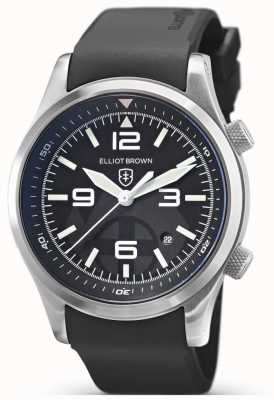 Elliot Brown Canford | Mountain Rescue Special Edition | Black Rubber 202-012-R01