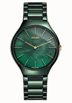 RADO Womens |True Thinline | Green Ceramic R27006912