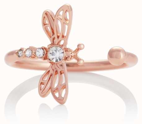 Olivia Burton | Dancing Dragonfly | Rose Gold | Ring | OBJAMR47