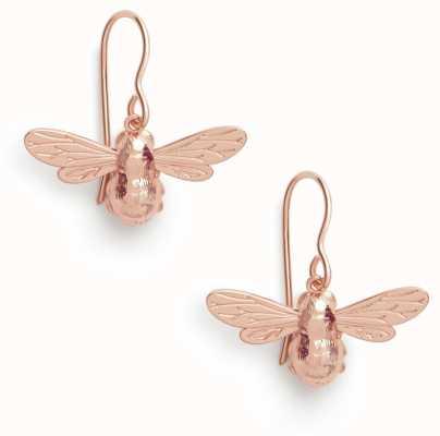 Olivia Burton | Lucky Bee | Rose Gold | Sleeper Earrings | OBJAME173N