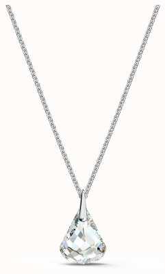 Swarovski Spirit Pendant | Rhodium Plated | White Drop Crystal 5521769