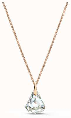 Swarovski Spirit Pendant | Rose Gold Tone Necklace | White Crystal 5529125