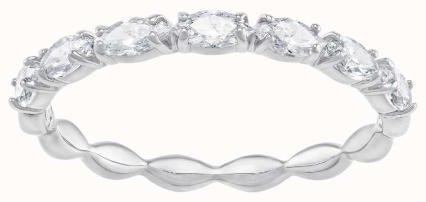 Swarovski Vittore Marquise | Rhodium Plated | White | Ring | 52 5366579