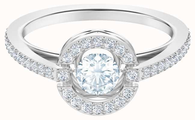 Swarovski Sparkling Dance   Rhodium Plated   White   Ring   55 5465280