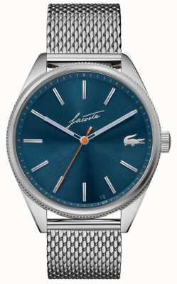 Lacoste Men's Heritage | Stainless Steel Mesh | Blue Dial 2011053