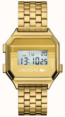 Lacoste Berlin | Digital Display | Gold PVD Bracelet 2020138