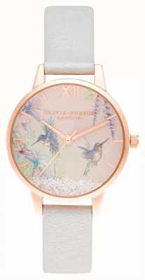 Olivia Burton Wishing Wings Midi Shimmer Pearl & Rose Gold OB16PP61