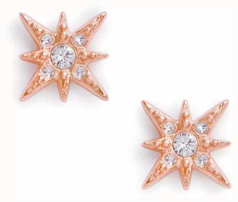 Olivia Burton Celestial North Star Stud Earrings Rose Gold OBJCLE43