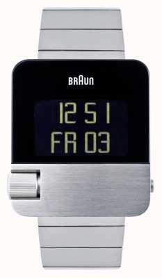 Braun Men's | Prestige | Digital | Stainless Steel Bracelet BN0106SLBTG