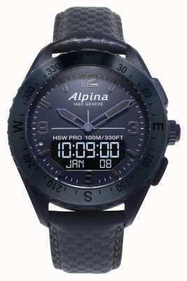 Alpina AlpinarX | Space Edition | Smartwatch | Blue Leather Strap AL-283SEN5NAQ6