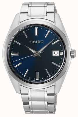 Seiko   Conceptual Gents Quartz   Stainless Steel   Blue Dial   SUR309P1