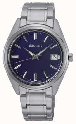 Seiko Conceptual Gents Quartz Stainless Steel, Blue Dial SUR317P1