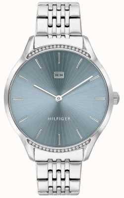 Tommy Hilfiger Gray | Stainless Steel Bracelet | Blue Dial | 1782210