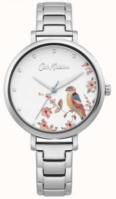 Cath Kidston Women's Stainless Steel Bracelet   Silver Bird Dial CKL099SM