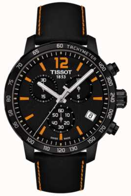 Tissot T-Sport Quickster Chronograph Black & Orange T0954173605700