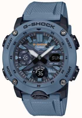 Casio Mens G Shock Carbon Core Watch Camouflage GA-2000SU-2AER