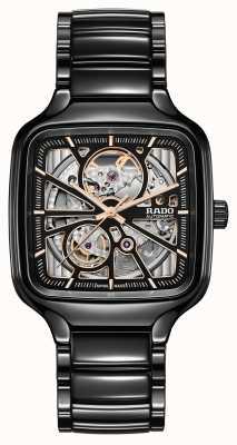 RADO True Square Skeleton Automatic | Ceramic Bracelet R27086162