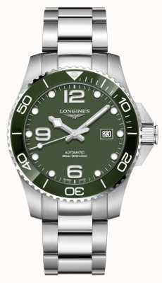 Longines Hydroconquest 43mm Automatic | Green Dial | Stainless Steel L37824066