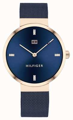 Tommy Hilfiger Liberty | Blue Mesh Bracelet | Blue Dial | 1782219