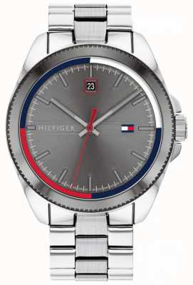 Tommy Hilfiger Riley | Stainless Steel Bracelet | Grey Dial | 1791684