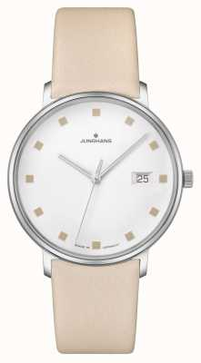 Junghans FORM Damen Date Window Leather Strap 047/4860.00