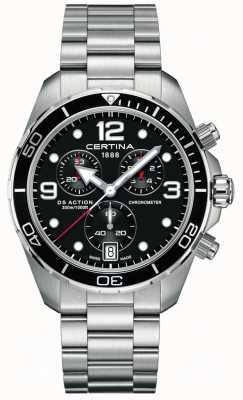 Certina DS Action Chrono | Chronometer  | Stainless Steel Bracelet C0324341105700