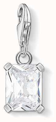 Thomas Sabo | Charm Pendant White Stone | Sterling Silver 1849-051-14