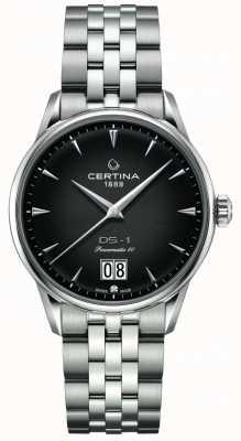 Certina DS-1 Big Date | Powermatic 80 | Stainless Steel Bracelet C0294261105100